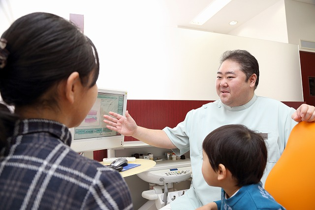 歯科医院は、歯をサッパリさせるところ